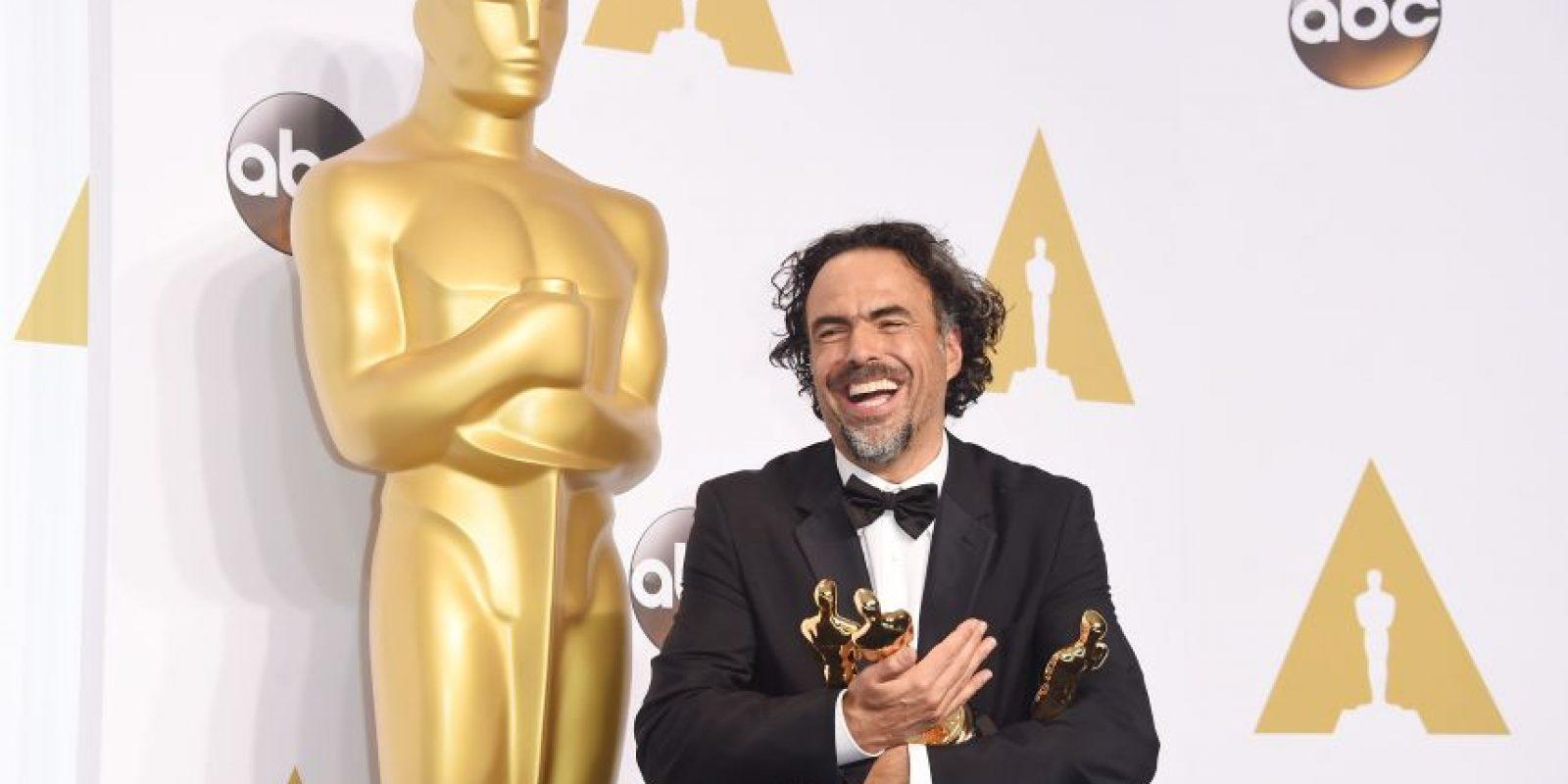 Iñárritu logró ese mismo reconocimientos dos años seguidos, con sus cientas Birdman y The Revenant. Foto:Getty Images