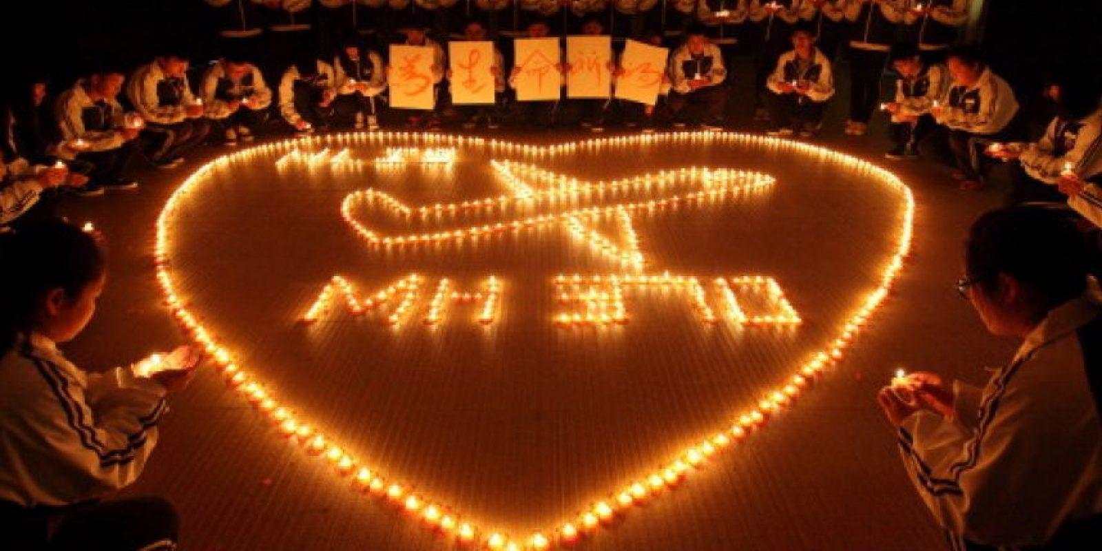 El Boing 777 desapareció el pasado 8 de marzo. Llevaba 227 pasajeros y una tripulación de 12 personas. Foto:Getty Images