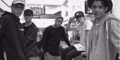 CNCO, la banda apoyada por Ricky Martin Foto:Tomada de Instagram