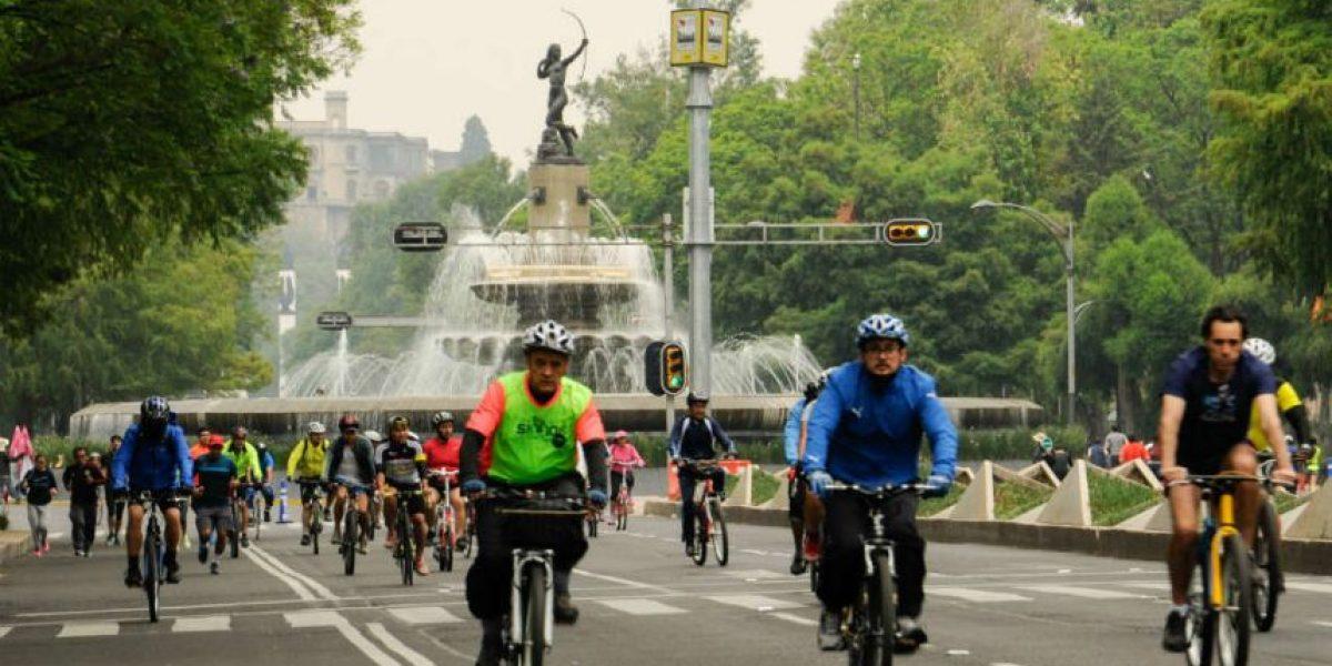 Piden a Mancera suspender paseo ciclista durante contingencias