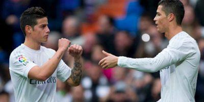 El colombiano Rodríguez y el portugués Ronaldo no serían contemplados para la justa olímpica. Foto:Getty Images
