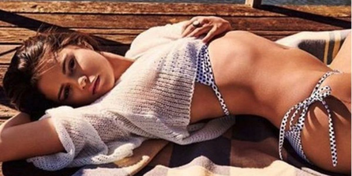 Selena Gómez presume su atrevida lencería en Snapchat