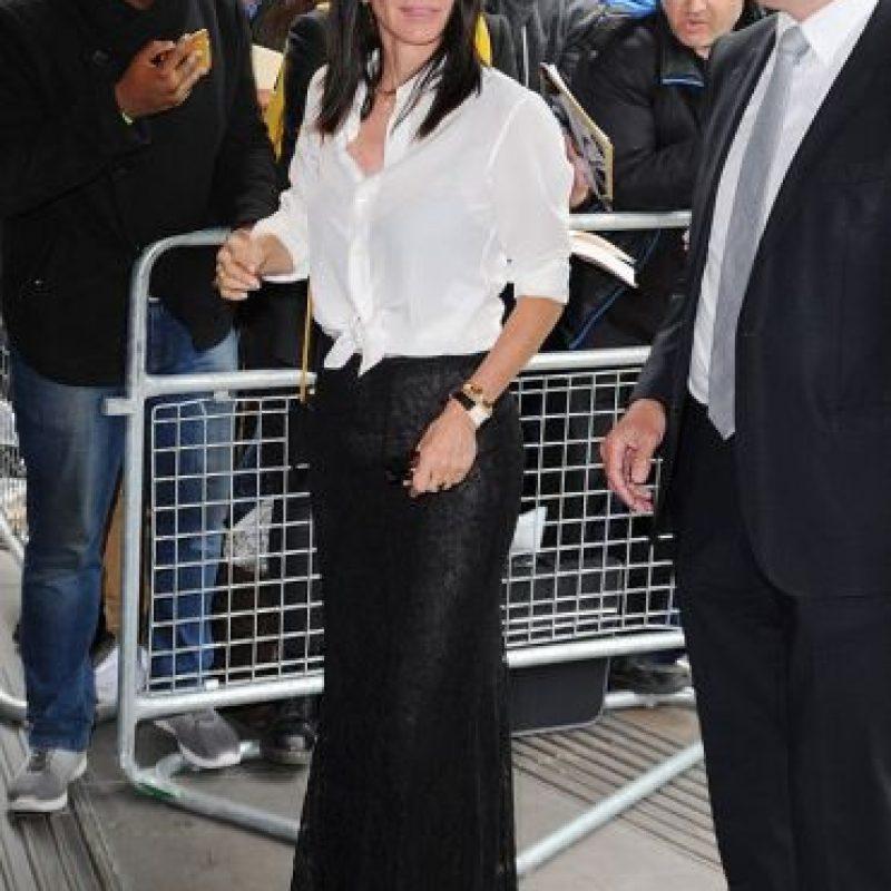 Donde interpretó a Mónica Foto:Getty Images
