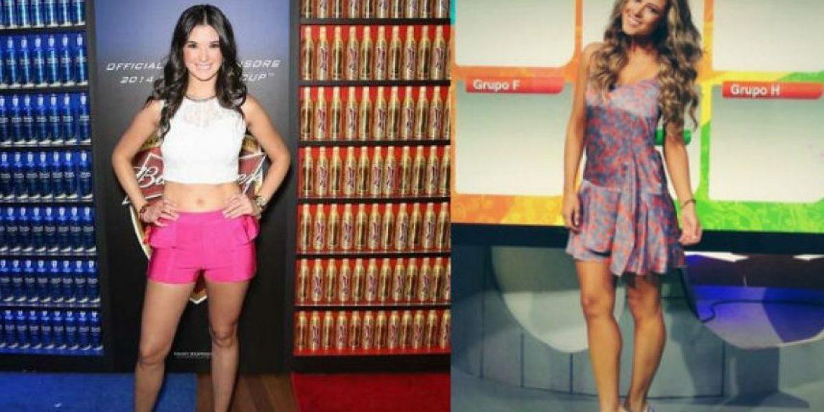 FOTOS: Pilar Pérez vs. Vanessa Huppenkothen, bellas aficionadas de León y Pachuca