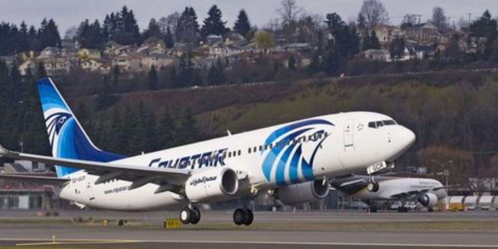 El Airbus A-320 de EgyptAir se encuentra desaparecido Foto:Twitter