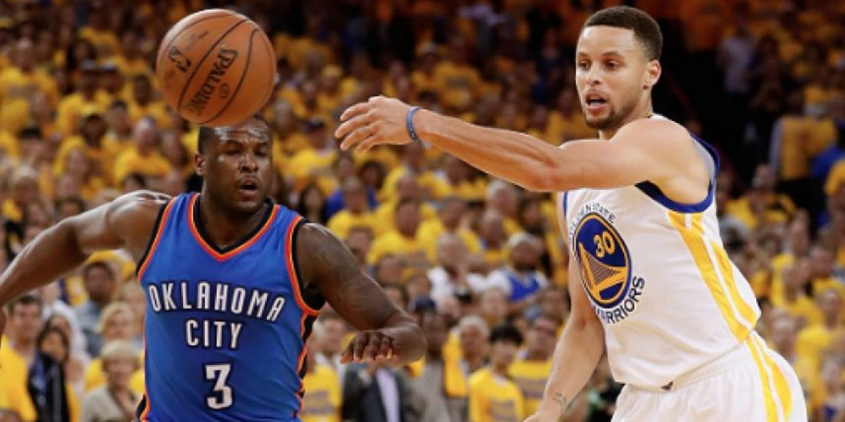 Curry guía a Golden State al triunfo sobre Oklahoma y se empata la serie 1-1