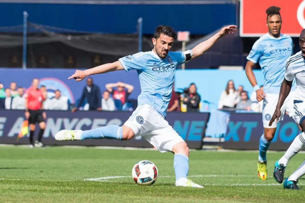 David Villa (New York City FC) 5.6 mdd. Foto: Getty Images