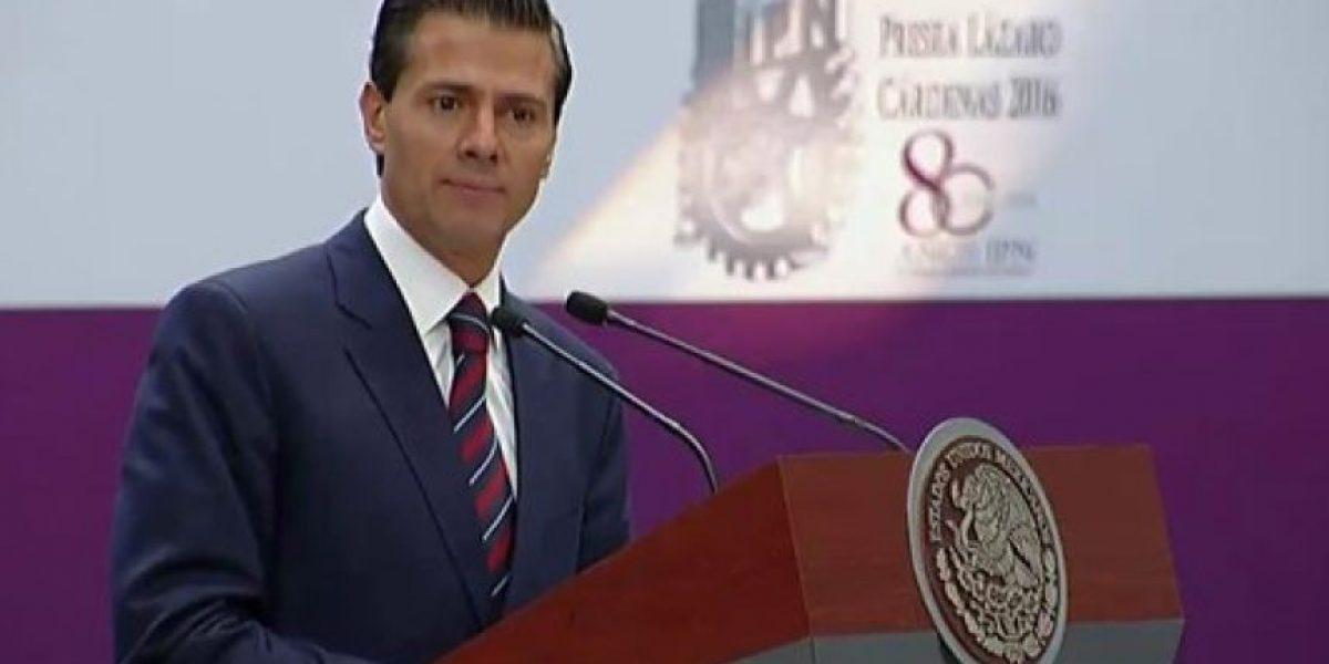 Reforma educativa no está diseñada para sancionar maestros: Peña Nieto