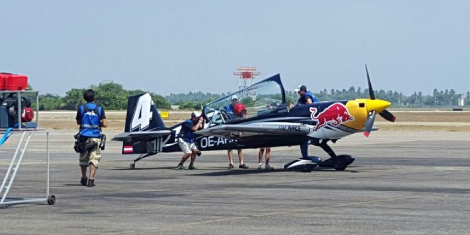 una probadita del Campeonato del Mundo de Red Bull Air Race Foto:Karina Bobadilla