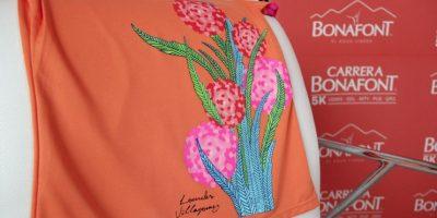 El diseño de la blusa, corrió a cargo de la diseñadora mexicana Lourdes Villagómez. Foto:Israel Salazar