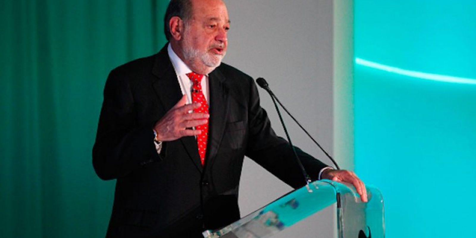 Carlos Slim Helú. Foto:Getty Images