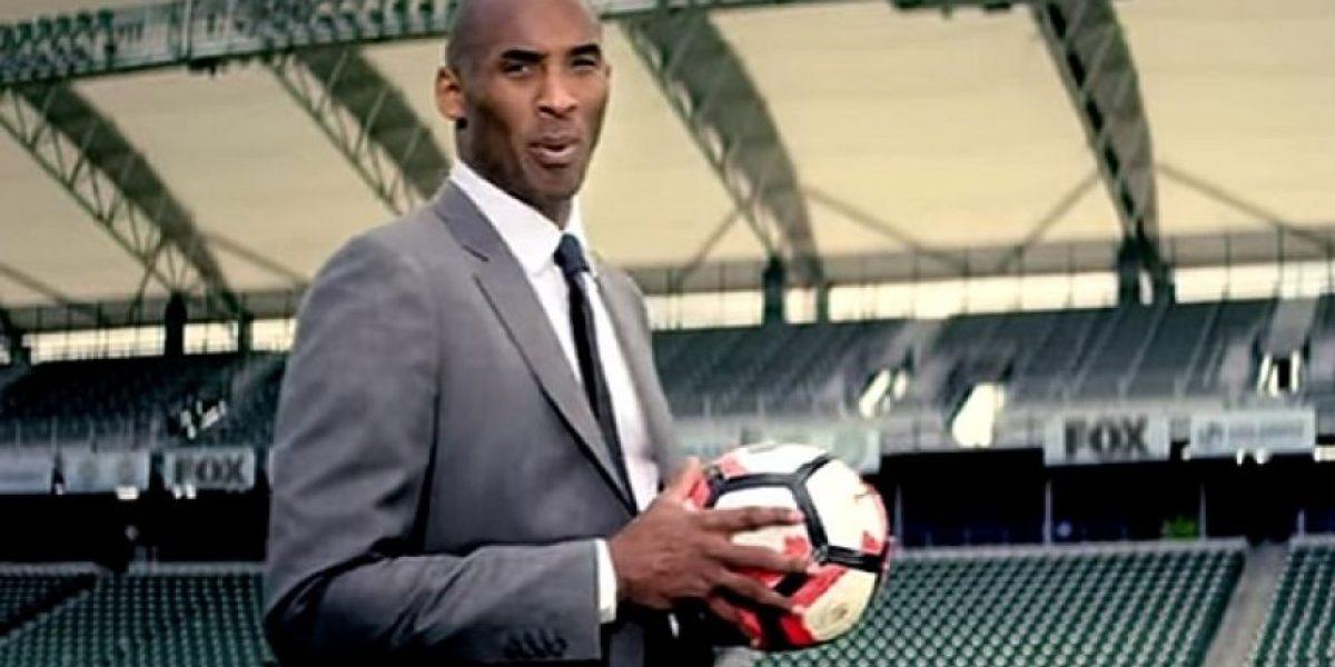 VIDEO: Kobe Bryant promociona Copa América junto a Chicharito