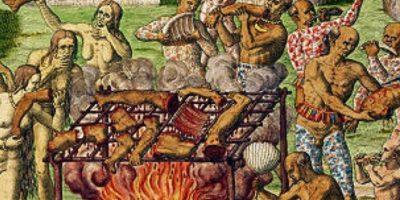 """William Seabrook, en su libro """"Jungle Ways"""", en 1920, la describía como una mezcla entre carne de cordero, res y cerdo Foto:Wikipedia"""