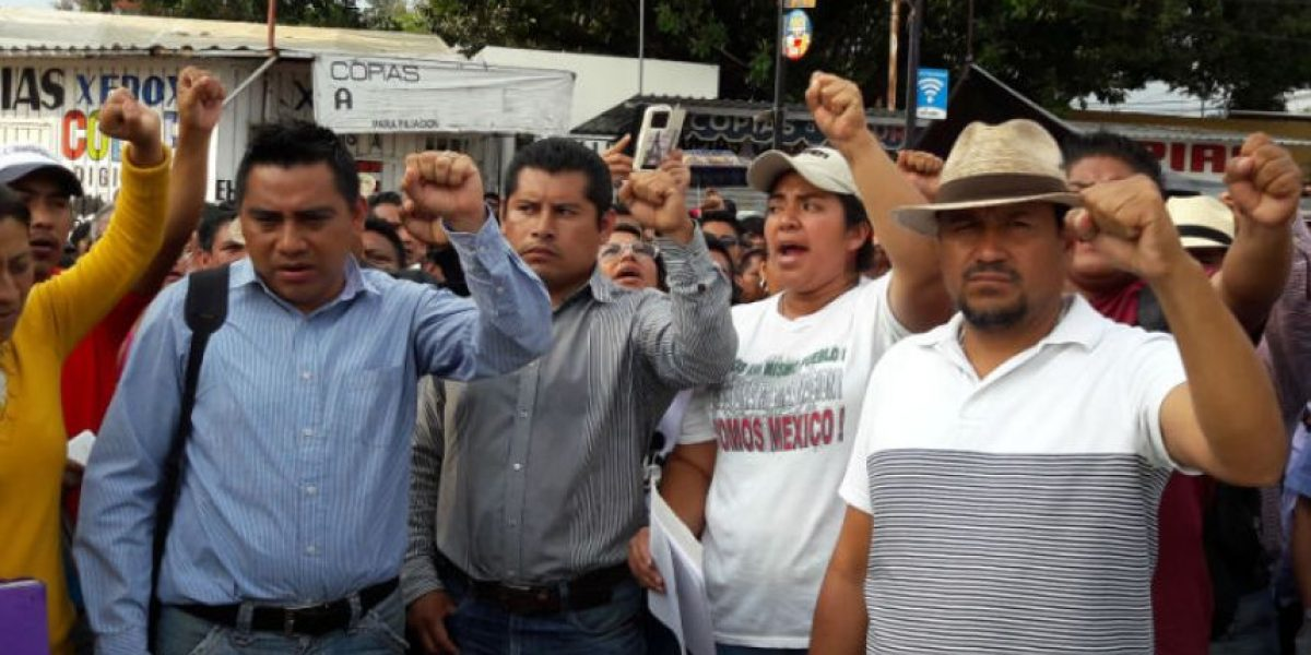 CNTE no levantará paro en Oaxaca hasta obtener respuesta a sus demandas