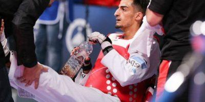Mourad Laachraoui, campeón de Europa en taekwondo. Foto:Twitter