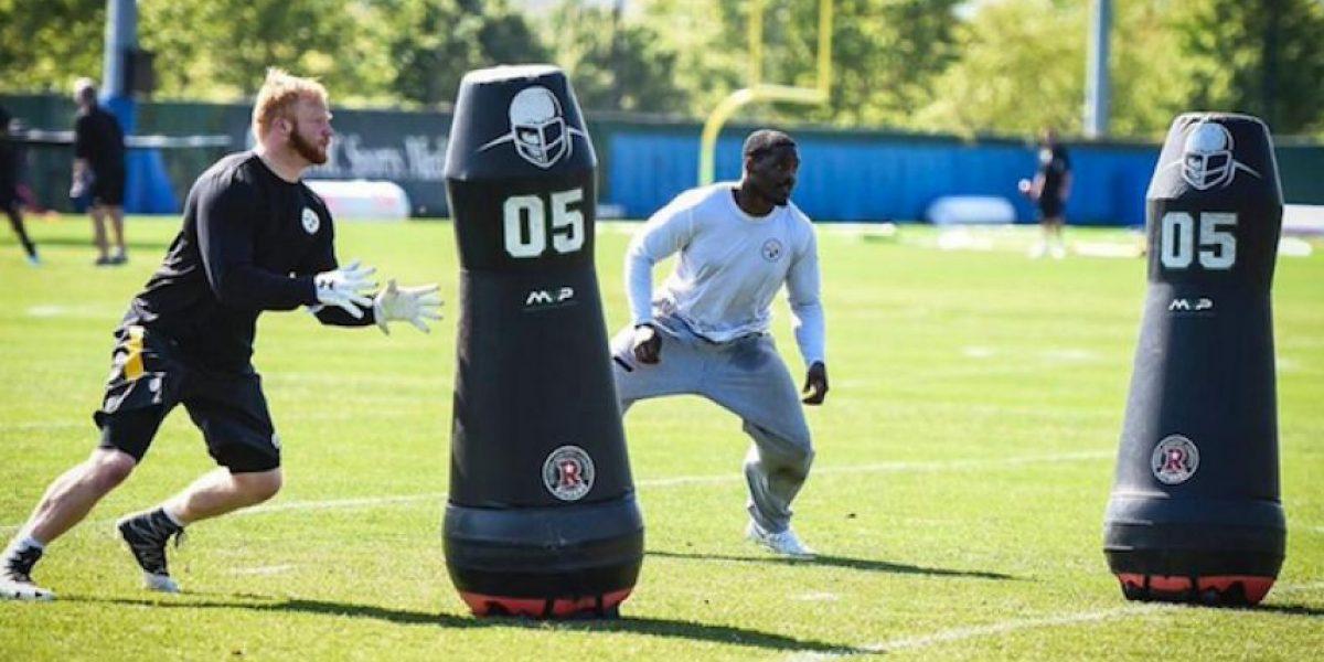 Muñecos robóticos ayudan a los Steelers en la temporada baja
