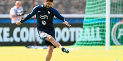 André-Pierre Gignac anotó un gol ante el conjunto Sub-19 del Bayonne francés. Foto:Getty Images