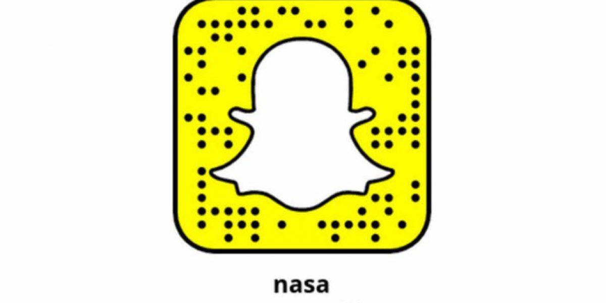 La NASA eligió a Snapchat para compartir los viajes espaciales