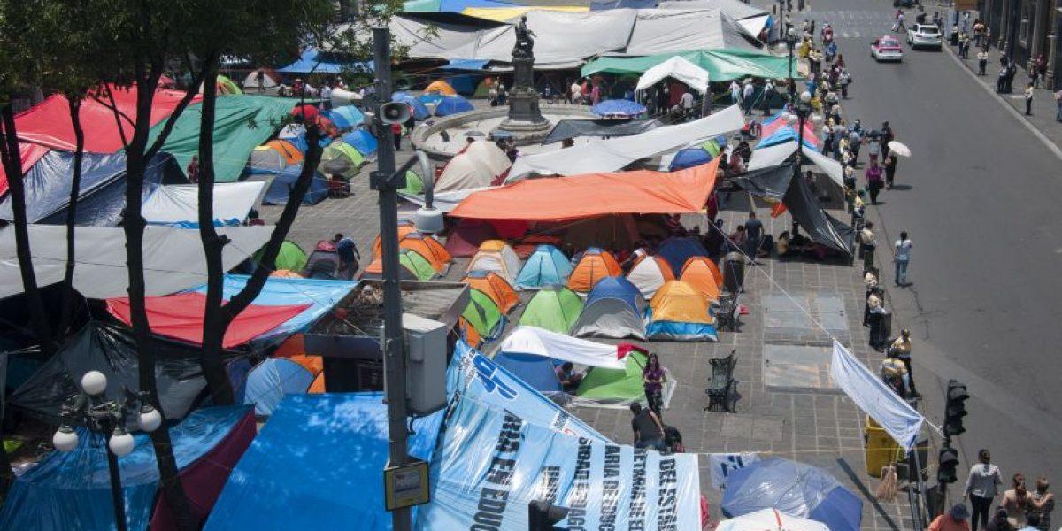 CNTE se va de la CDMX; acusa intimidación y amenazas en desalojo