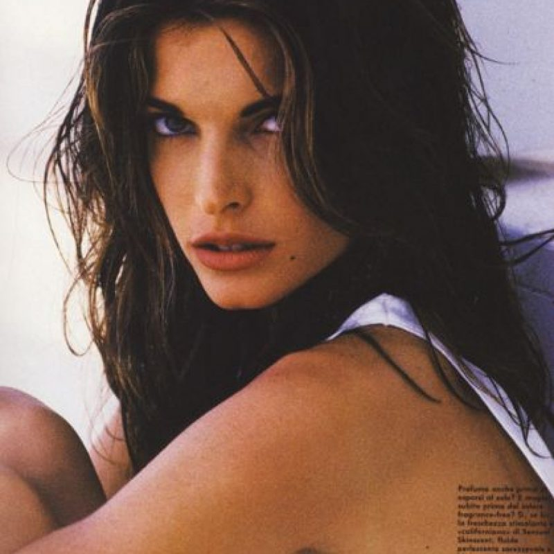 Stephanie Seymour fue famosa por su agitada vida sentimental. Foto:vía Vogue