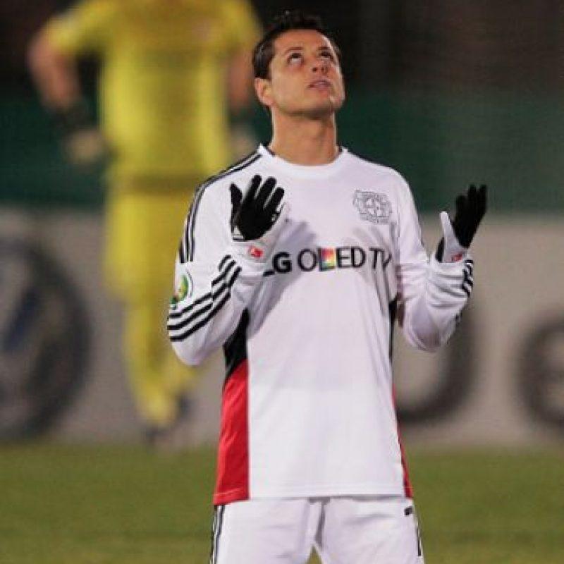 Eligen a Chicharito como el mejor jugador del Bayer Leverkusen en la Bundesliga Foto:Getty Images