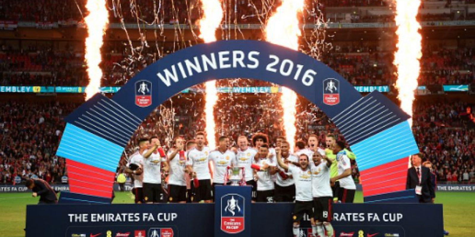 Manchester United se proclama campeón de la FC Cup 2016 Foto:Getty Images
