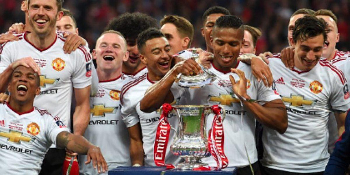Manchester United sufrió para convertirse en campeón de la FA Cup