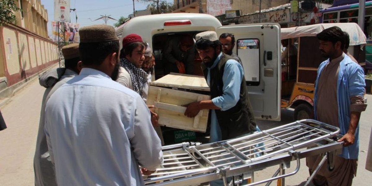 Confirman muerte de líder talibán en Pakistán