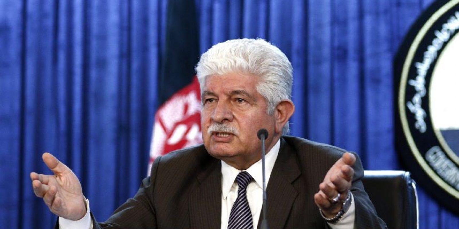 El portavoz del ministerio de Defensa afgano, Dawlat Wazir, confirmó el fallecimiento Foto:EFE