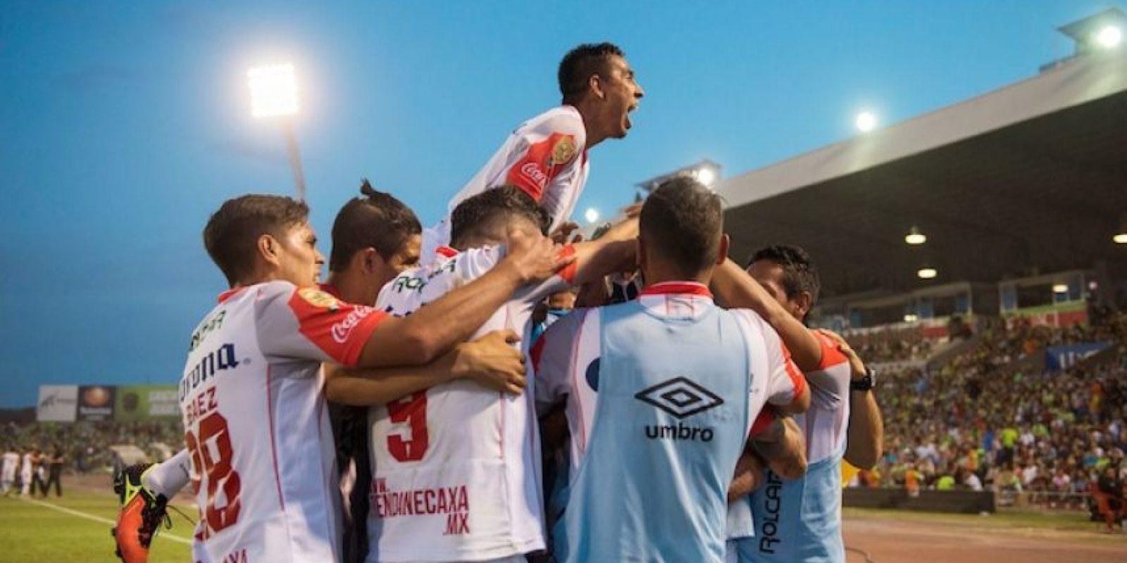 Necaxa derrotó por global de 3-0 a Juárez. Foto:Mexsport