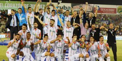 Así celebraron los Rayos el ascenso a la Primera División. Foto:Mexsport