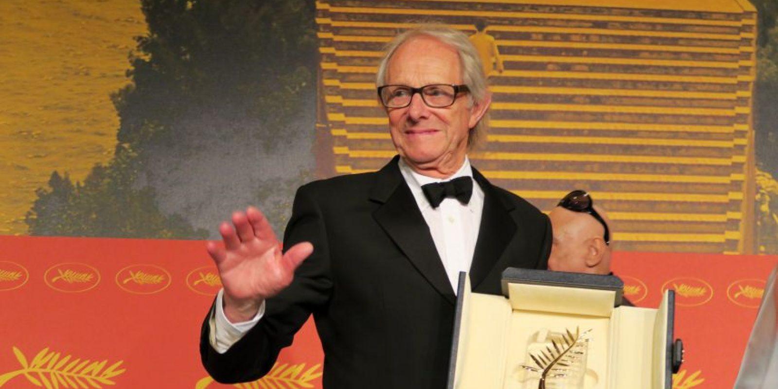 """El director Ken Loach, ganó la Palma de Oro de Cannes por la cinta """"Yo, Daniel Blake"""". Foto:Notimex"""