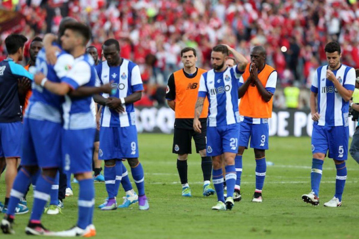 Miguel Layún y Héctor Herrera jugaron los 90 minutos, 'Tecatito' Corona se quedó en la banca. Foto:AP