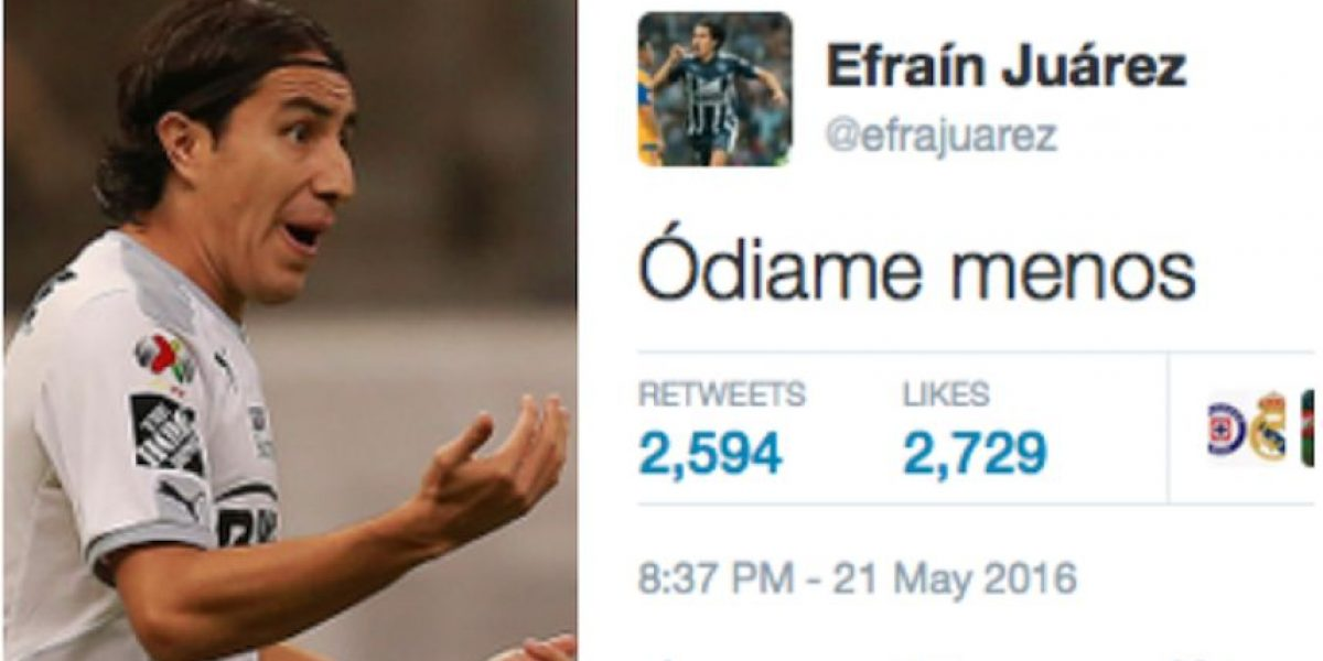 ¡Tómala! Efraín Juárez se burla del América tras la eliminación