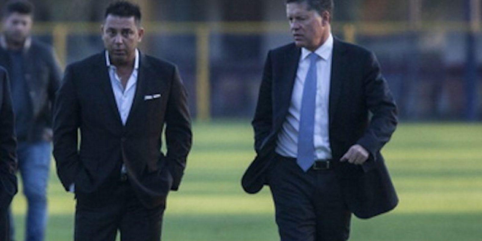 """Tras su salida de América, El """"Turco"""" y Ricardo Peláez terminaron en malos términos. Foto:Getty Images"""