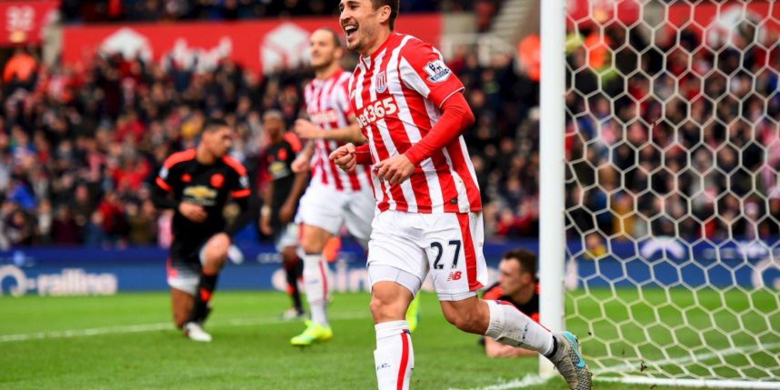 Ahora milita en el Stoke City Foto:Getty Images