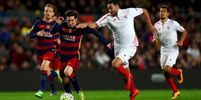 Mientras que el Sevilla se volvió a coronar en la Europa League Foto:Getty Images