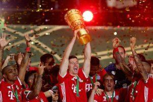 Pep Guardiola se despide del Bayern como campeón de copa Foto:Getty Images