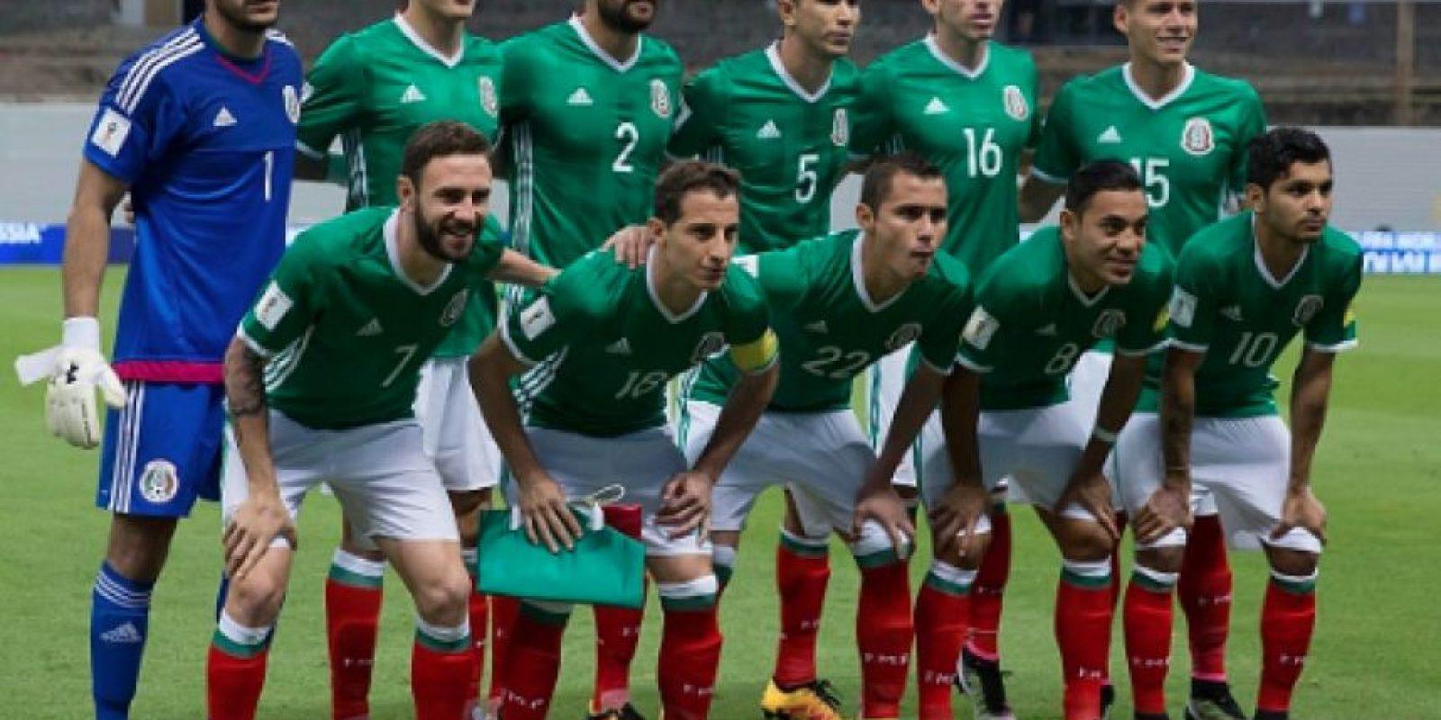 México empieza su camino rumbo a la Copa América Foto:Getty Images