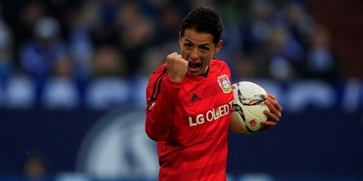 Gol de Chicharito, nominado al mejor de la Bundesliga
