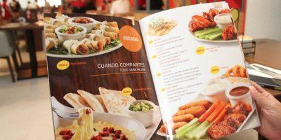 Los cambios se pueden apreciar en el nuevo menú. Foto:Nicolás Corte / Publimetro