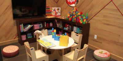 Cada sucursal contará con un área lúdica para niños. Foto:Nicolás Corte / Publimetro