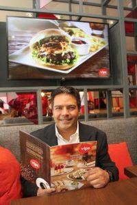 El director de Marketing de Vips, Alfonso Tinoco. Foto:Nicolás Corte / Publimetro