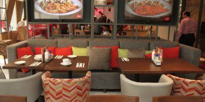 Se diseñaron nuevos espacios para los comensales. Foto:Nicolás Corte / Publimetro