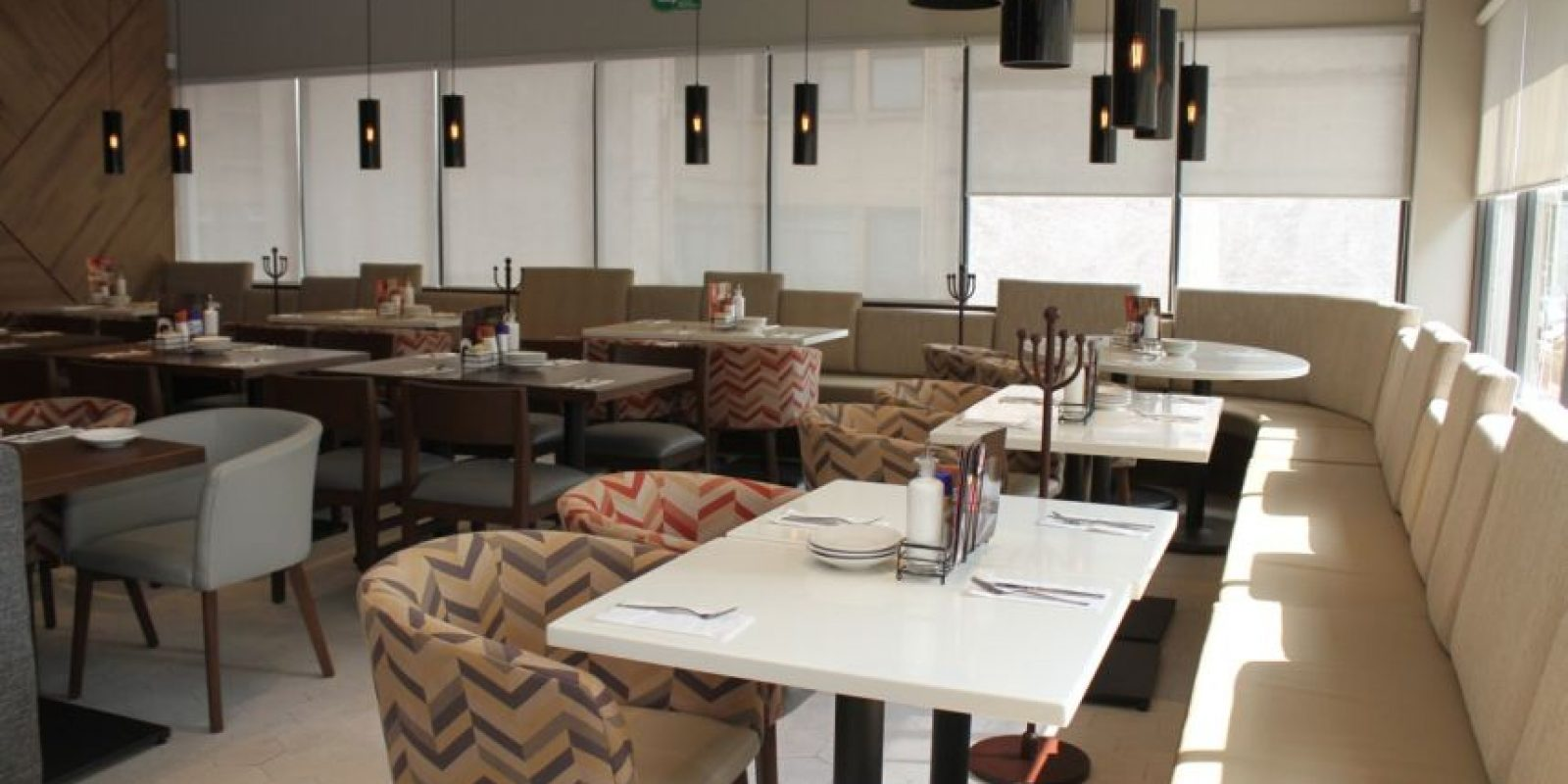 Los espacios fueron diseñados según las necesidades de los comensales. Foto:Nicolás Corte / Publimetro
