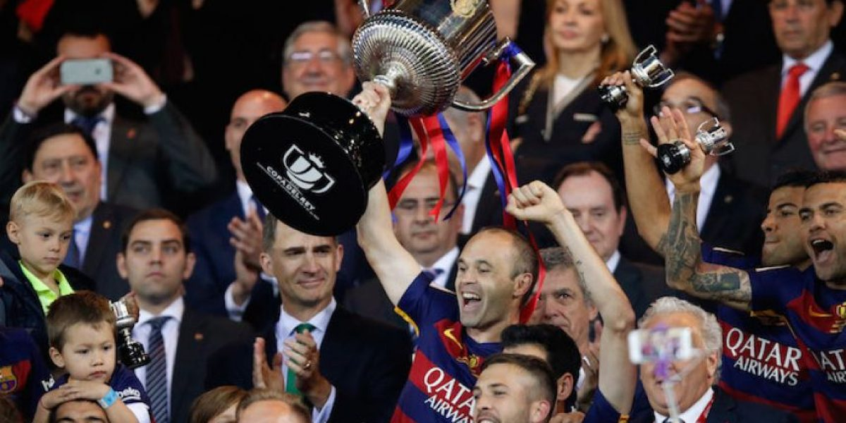 Barcelona es el Rey de España