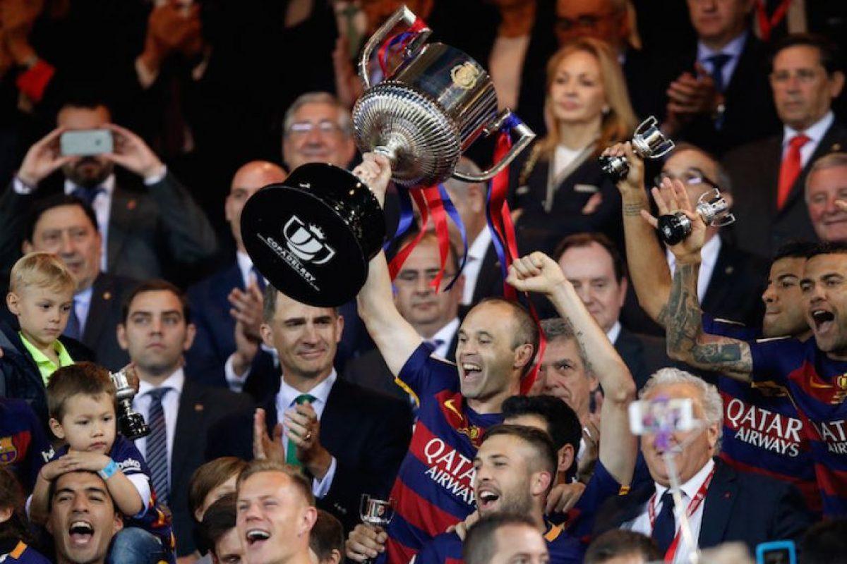 Barcelona es el Rey de España Foto:AP