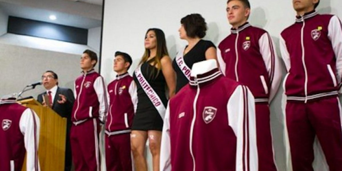 Presentan al Futbol Club Politécnico, el equipo del IPN