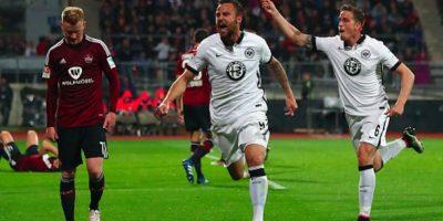 Un solitario tanto de Seferovic consagró la permanencia de Frankfurt en la Bundesliga. Foto:Getty Images
