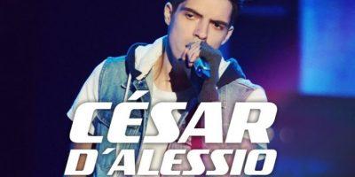 Cesar D'alessio interpretó un éxito de Maroon 5. Foto:Televisa